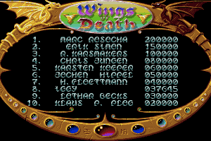 Wings of Death 19