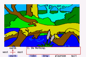 Winnie the Pooh in the Hundred Acre Wood abandonware