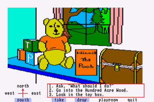 Winnie the Pooh in the Hundred Acre Wood 1