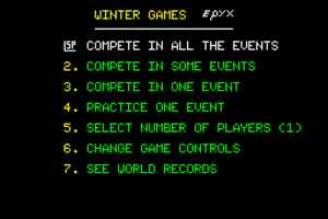 Winter Games 1