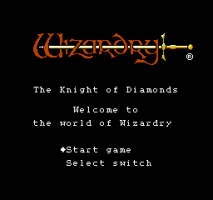 Wizardry: Knight of Diamonds - The Second Scenario 1