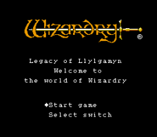 Wizardry: Legacy of Llylgamyn - The Third Scenario 0