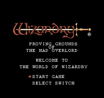 Wizardry: Proving Grounds of the Mad Overlord 0