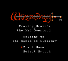 Wizardry: Proving Grounds of the Mad Overlord 1