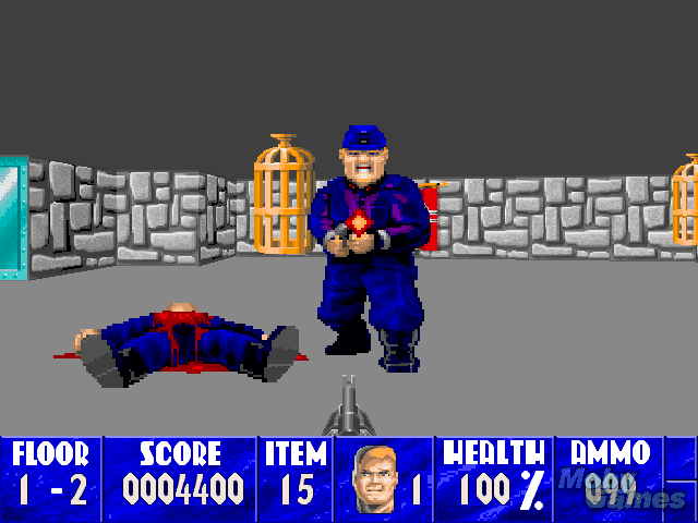 Download wolfenstein 3d my abandonware for Wolfenstein 3d