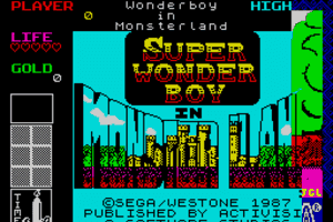 Wonder Boy in Monster Land 1