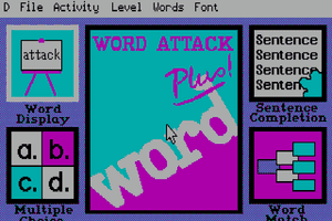 Word Attack Plus! abandonware