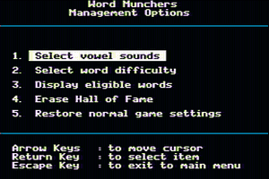 Word Munchers abandonware