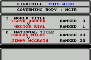 World Championship Boxing Manager 9