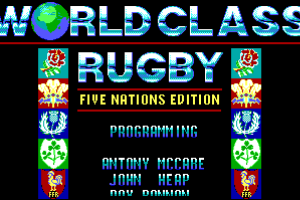 World Class Rugby: Five Nations Edition abandonware
