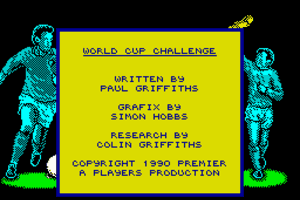 World Cup Challenge 1
