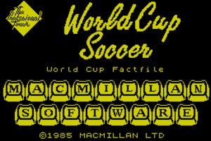 World Cup Soccer 0