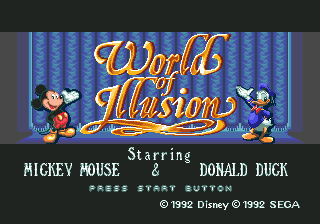 World of Illusion Starring Mickey Mouse and Donald Duck 1