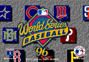 World Series Baseball '96 0