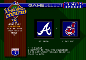 World Series Baseball '96 2