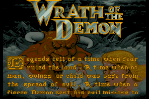 Wrath of The Demon 1