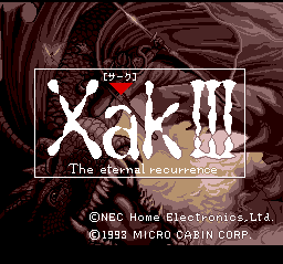 Xak III: The Eternal Recurrence 0