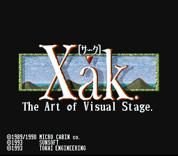 Xak: The Art of Visual Stage 0