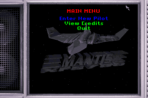 XF5700 Mantis Experimental Fighter abandonware