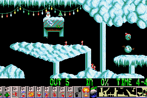 Xmas Lemmings 9