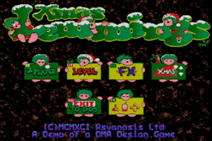 Xmas Lemmings 1