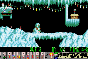 Xmas Lemmings 3