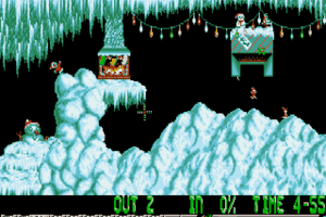 Xmas Lemmings 4