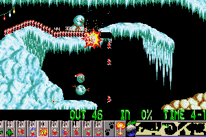 Xmas Lemmings abandonware