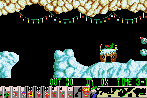Xmas Lemmings 8