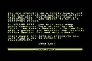 Yellow Peril abandonware
