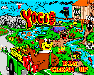 Yogi's Big Clean Up 0