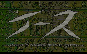 Ys II: Ancient Ys Vanished - The Final Chapter 1
