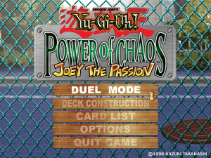 Yu-Gi-Oh! Power of Chaos: Joey the Passion 0