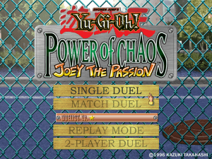 Yu-Gi-Oh! Power of Chaos: Joey the Passion 1