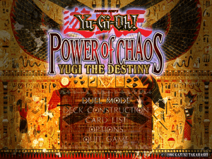 Yu-Gi-Oh! Power of Chaos: Yugi the Destiny 0