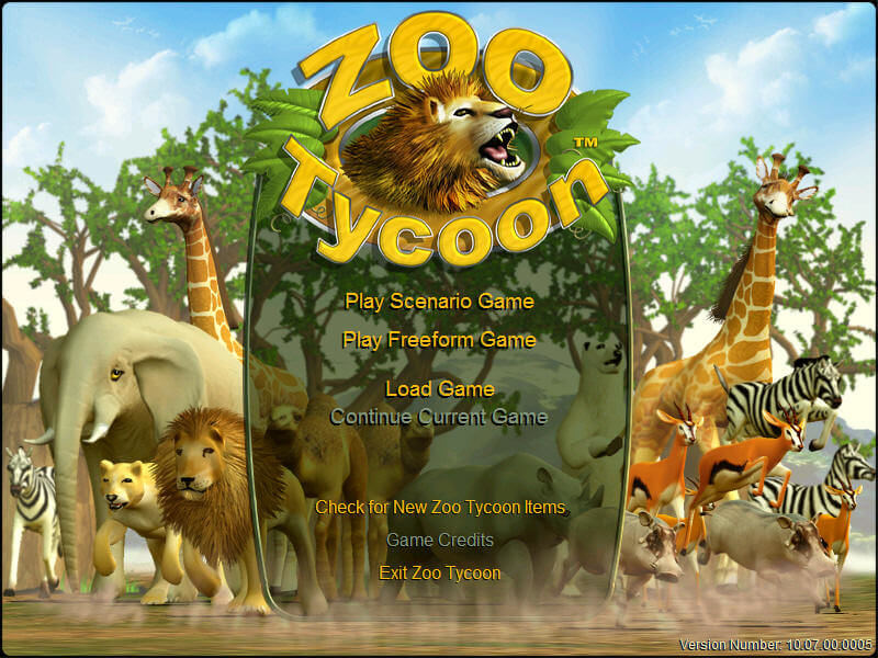 Download Zoo Tycoon (Windows) - My Abandonware