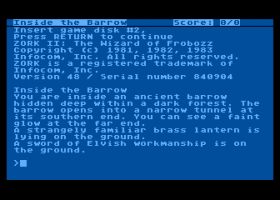 Zork II: The Wizard of Frobozz 2