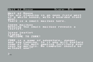 Zork: The Great Underground Empire 0