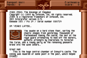 Zork Zero: The Revenge of Megaboz 2